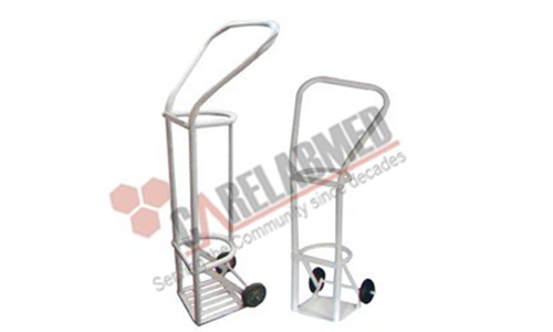 TROLLEY FOR OXYGEN CYLINDER