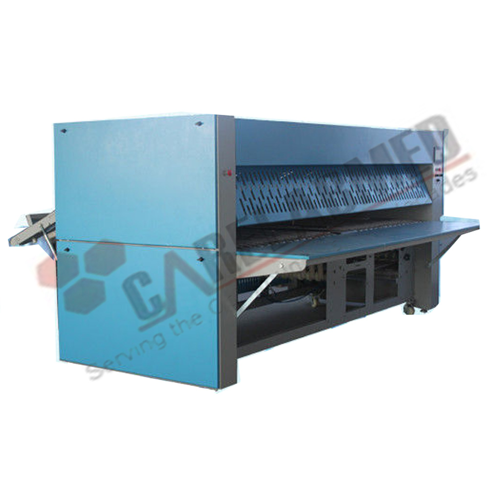CLM3300 V AUTO HOTEL LINEN BEDSHEET FOLDING MACHINE OF 304 STAINLESS STEEL